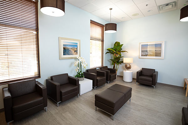 Waiting Area at Atlantic Dentistry